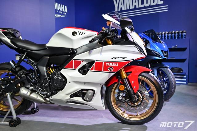Chi tiet Yamaha R7 phien ban 60th Anniversary Livery gioi han 30 chiec