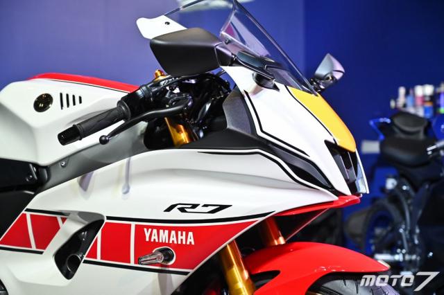 Chi tiet Yamaha R7 phien ban 60th Anniversary Livery gioi han 30 chiec - 4