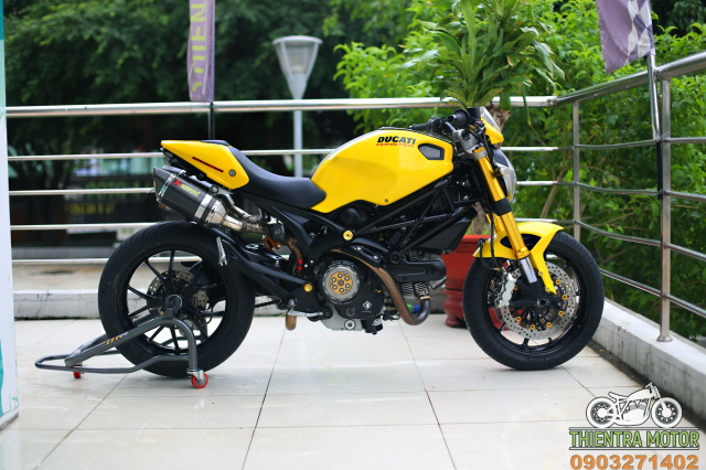 Ducati monster 796 chi chit do choi - 17