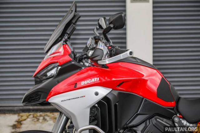 Can canh Ducati Multistrada V4 va Multistrada V4S vua ra mat tai Dong Nam A - 19
