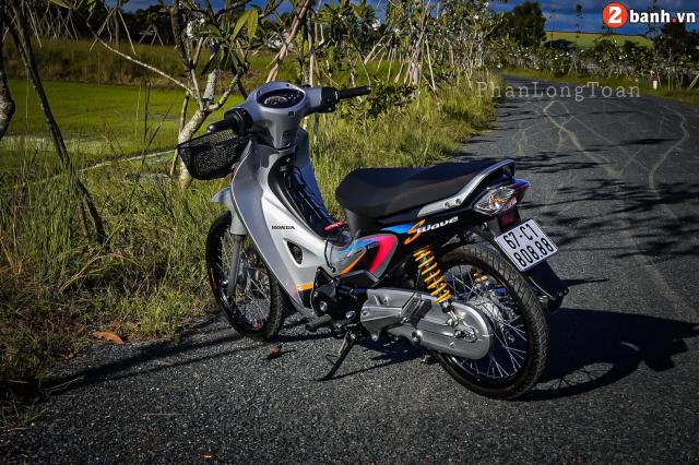 Future 125 bien so khung hoan hao vo doi voi linh hon cua Wave Thai Lan - 20