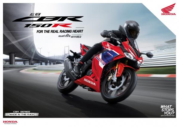 Honda CBR150R 2022 cung ra mat tai Thai Lan voi gia re hon Viet Nam vai trieu