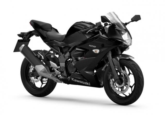 Kawasaki Ninja 125 2022 chinh thuc trinh lang gay soc voi gia ban tren troi - 3