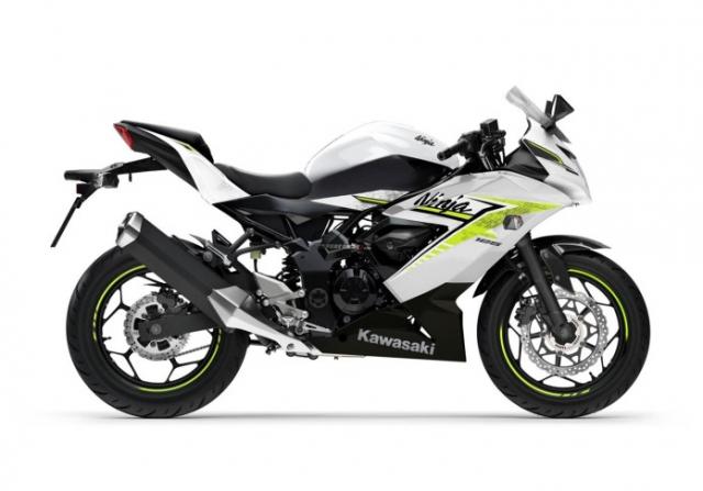 Kawasaki Ninja 125 2022 chinh thuc trinh lang gay soc voi gia ban tren troi - 8
