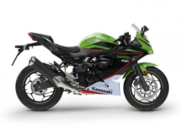 Kawasaki Ninja 125 2022 chinh thuc trinh lang gay soc voi gia ban tren troi - 11