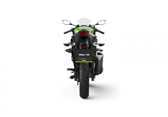 Kawasaki Ninja 125 2022 chinh thuc trinh lang gay soc voi gia ban tren troi - 12