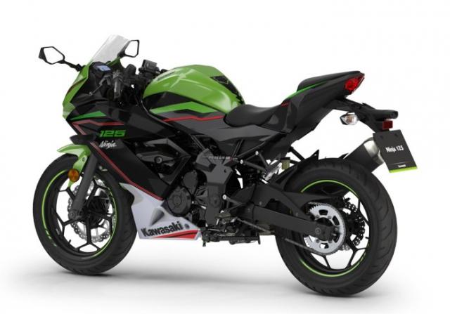 Kawasaki Ninja 125 2022 chinh thuc trinh lang gay soc voi gia ban tren troi - 14
