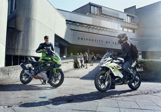 Kawasaki Ninja 125 2022 chinh thuc trinh lang gay soc voi gia ban tren troi - 16