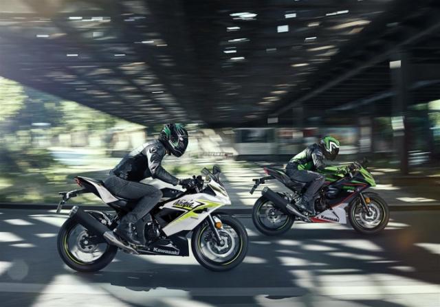 Kawasaki Ninja 125 2022 chinh thuc trinh lang gay soc voi gia ban tren troi - 17