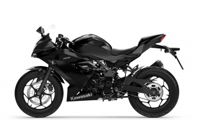 Kawasaki Ninja 125 2022 chinh thuc trinh lang gay soc voi gia ban tren troi - 4