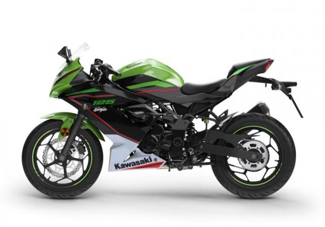 Kawasaki Ninja 125 2022 chinh thuc trinh lang gay soc voi gia ban tren troi - 10