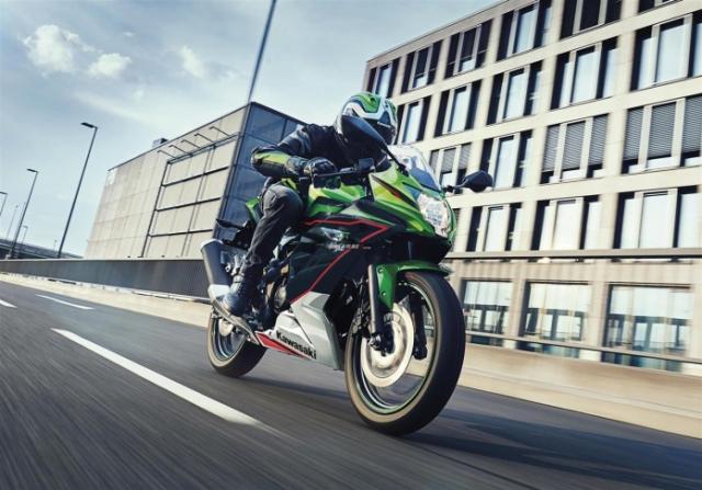 Kawasaki Ninja 125 2022 chinh thuc trinh lang gay soc voi gia ban tren troi - 20