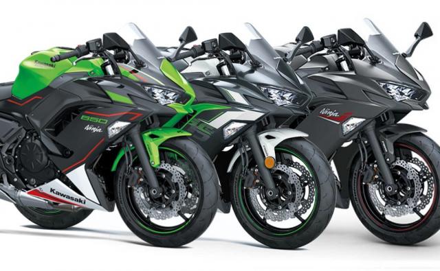 Kawasaki Ninja 650 2022 tiet lo mau sac moi