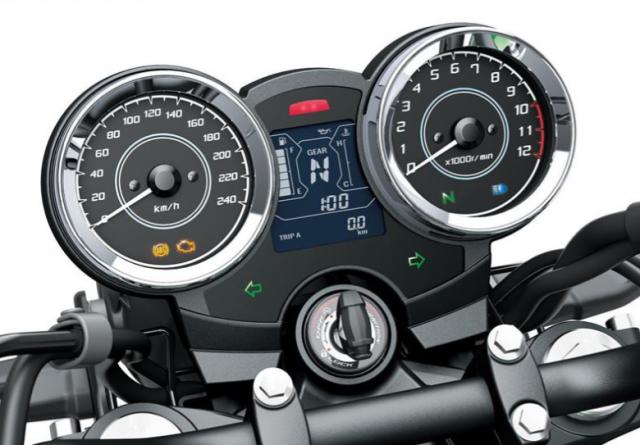 Kawasaki Z650RS 2022 moi vua duoc trinh lang - 4