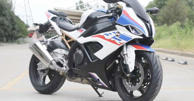 Lo dien em trai cua BMW S1000RR 2021 su dung dong co 500cc