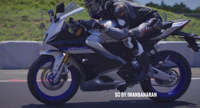 Lo dien hinh anh cua Yamaha R15 V4 moi trang bi Quickshifter Traction Control - 9