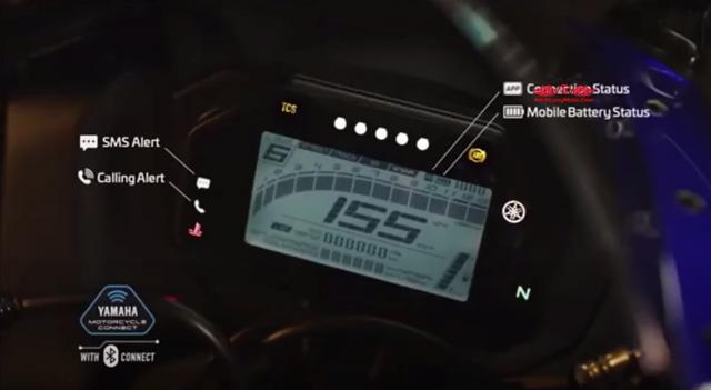Lo dien hinh anh cua Yamaha R15 V4 moi trang bi Quickshifter Traction Control - 6