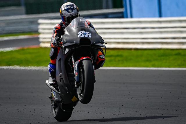 Lo dien nhung chiec xe dua MotoGP hoan toan moi khi dang thu nghiem - 14