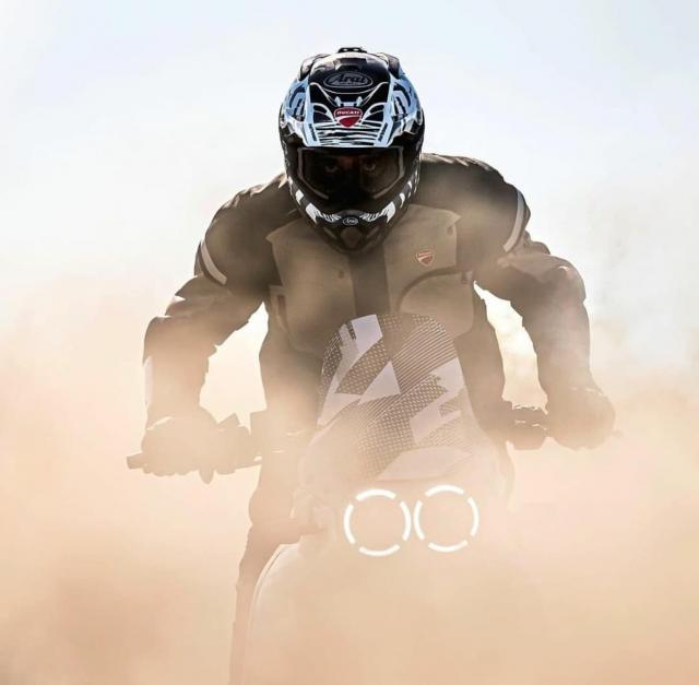 Lo tin Ducati Desert X se xuat hien trong buoi ra mat xe moi 2022 cua Ducati