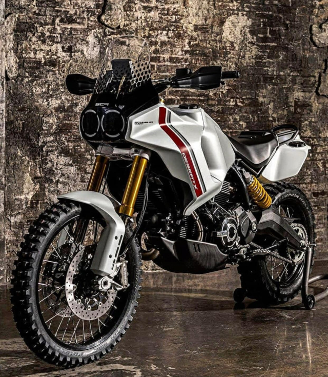 Lo tin Ducati Desert X se xuat hien trong buoi ra mat xe moi 2022 cua Ducati - 8
