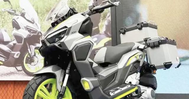 Longjia XDV 300i ra mat canh tranh voi Honda ADV 350