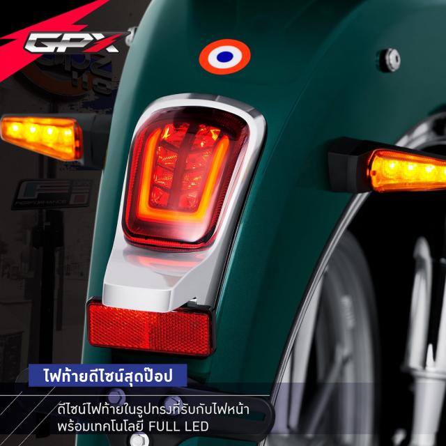 Sam soi GPX POPZ 110 2021 Mau xe duoi 30 trieu dong lam ai cung say me - 5