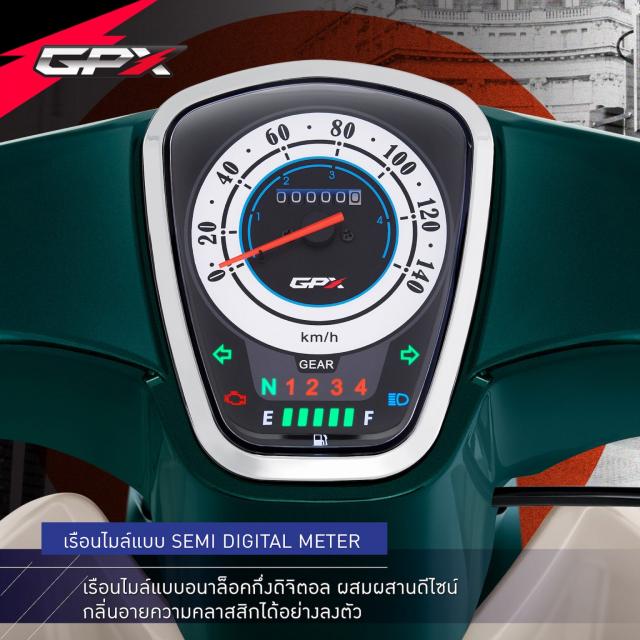 Sam soi GPX POPZ 110 2021 Mau xe duoi 30 trieu dong lam ai cung say me - 11