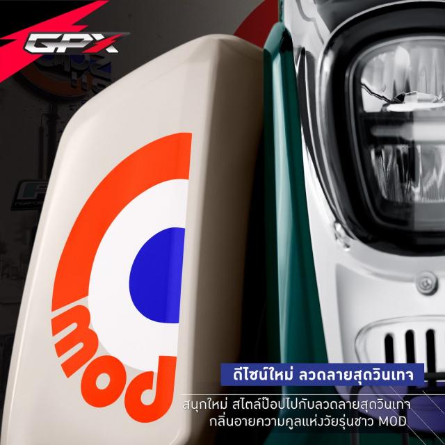 Sam soi GPX POPZ 110 2021 Mau xe duoi 30 trieu dong lam ai cung say me - 6
