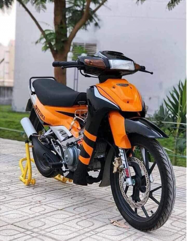 SUZUKI XIPO 120 Phanh ABS Xe Nhap Khau Gia Re - 2