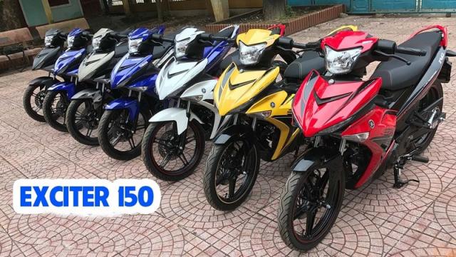 YAMAHA EXCITER 150 Phanh ABS Xe Nhap Khau Gia Re - 9
