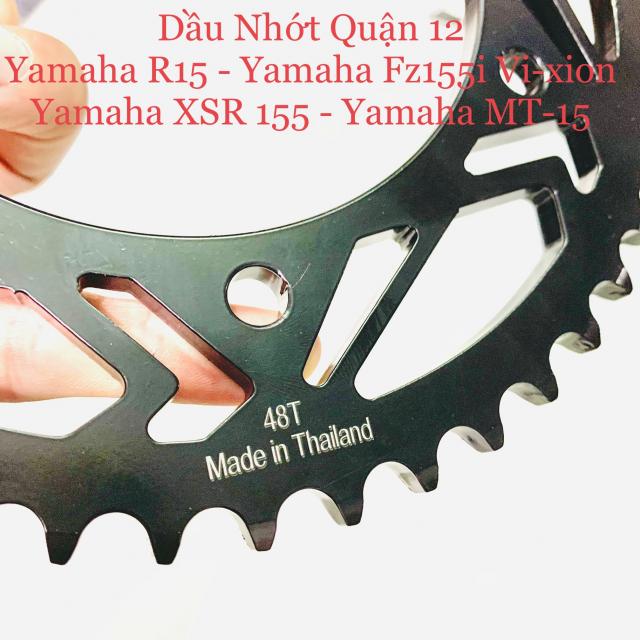 Yamaha R15 V3 XSR MT15 Fz155i Vixion Nhong 14T Dia 47T 48T 49T 50T 52T Chuan 428 Recto Thailand - 2