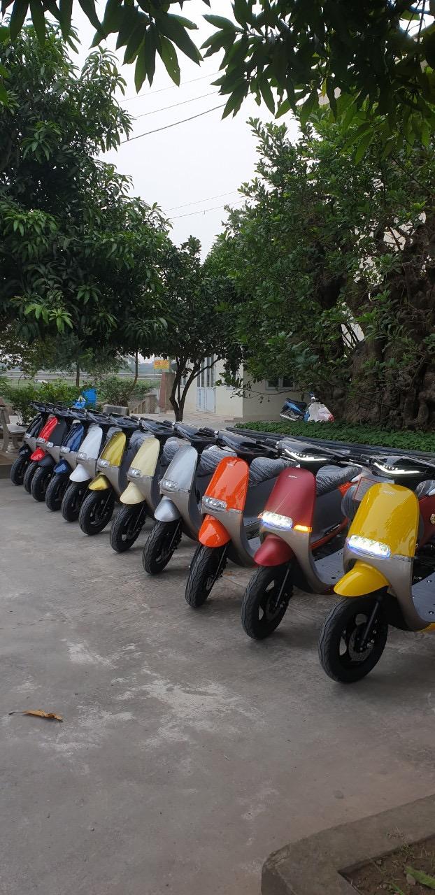 _ Moi ve xe Lo xe NAMOTOR xe 50cc Khong can bang Lai rat tien cho hoc sinh va cac chi em di cho - 3