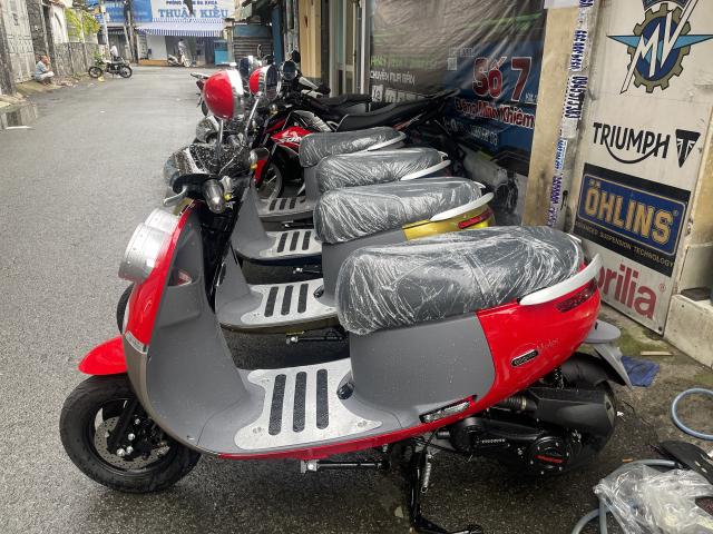 _ Moi ve xe Lo xe NAMOTOR xe 50cc Khong can bang Lai rat tien cho hoc sinh va cac chi em di cho - 7