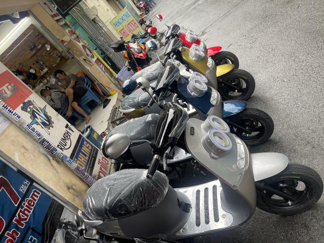 _ Moi ve xe Lo xe NAMOTOR xe 50cc Khong can bang Lai rat tien cho hoc sinh va cac chi em di cho - 8