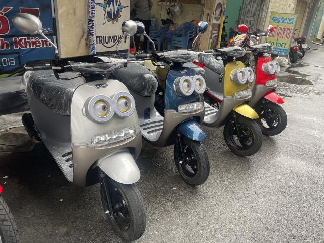 _ Moi ve xe Lo xe NAMOTOR xe 50cc Khong can bang Lai rat tien cho hoc sinh va cac chi em di cho - 9