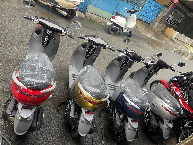 _ Moi ve xe Lo xe NAMOTOR xe 50cc Khong can bang Lai rat tien cho hoc sinh va cac chi em di cho - 10