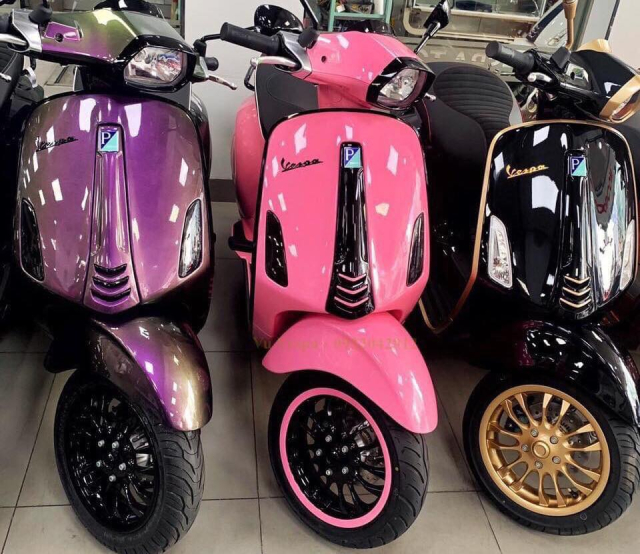 Chuyen thanh ly cac dong xe Vespa gia re toan quoc