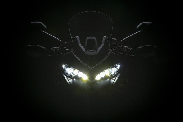 Ducati Multistrada V2 2022 trinh lang thay the cho nguoi anh em Multistrada 950