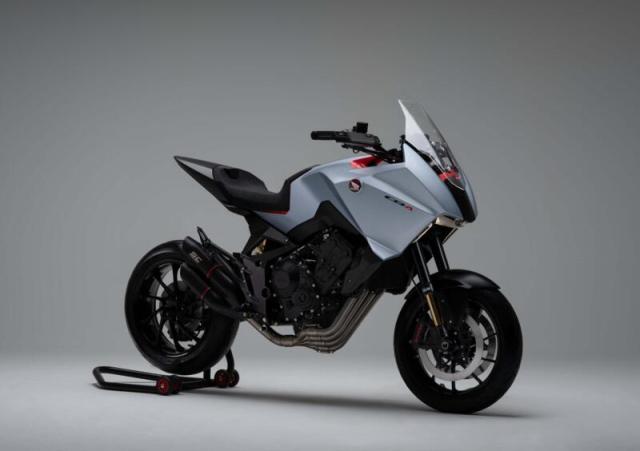 Honda dem nguoc thoi diem ra mat Sport touring NT1100 hoan toan moi vao tuan toi - 4