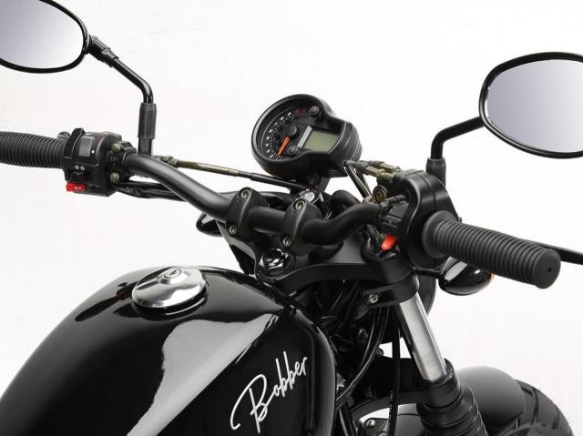 Hyosung GV125S Mau Bobber 125cc may VTwin khien ai cung phat cuong - 9