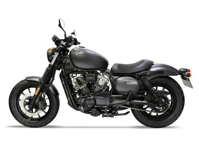 Hyosung GV125S Mau Bobber 125cc may VTwin khien ai cung phat cuong - 16