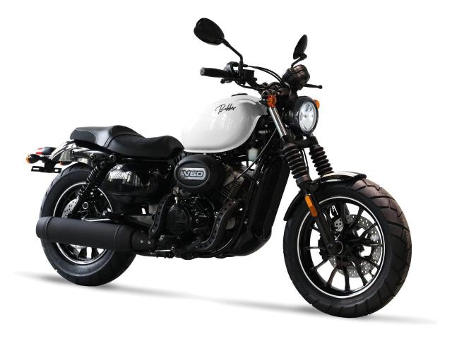 Hyosung GV125S Mau Bobber 125cc may VTwin khien ai cung phat cuong - 18
