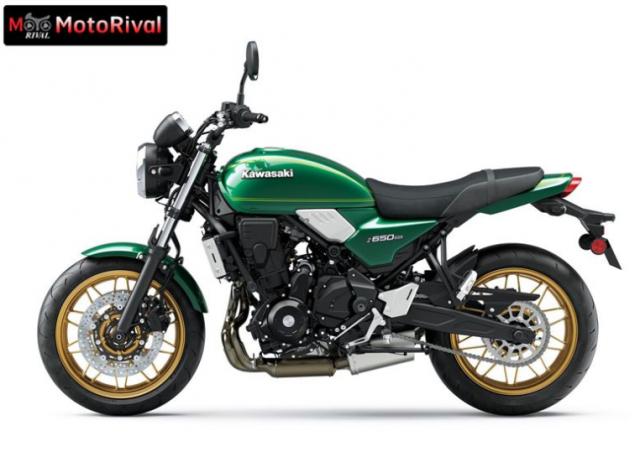 Kawasaki Z650RS 2022 moi vua duoc trinh lang - 5