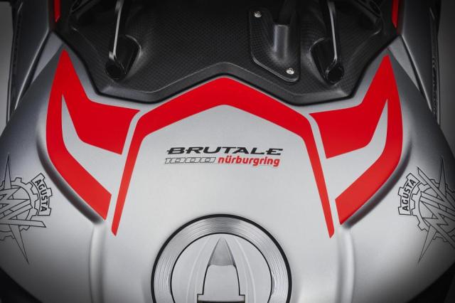 Lo dien phien ban dac biet MV Agusta Brutale 1000 Nurburgring gioi han tren the gioi - 22