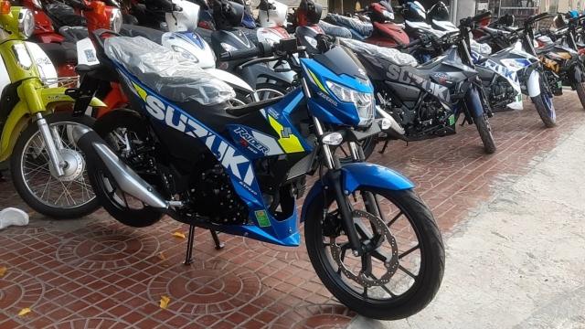 Suzuki Raider 150 Doi 2019 Phanh ABS Xe Nhap Khau Gia Re - 6